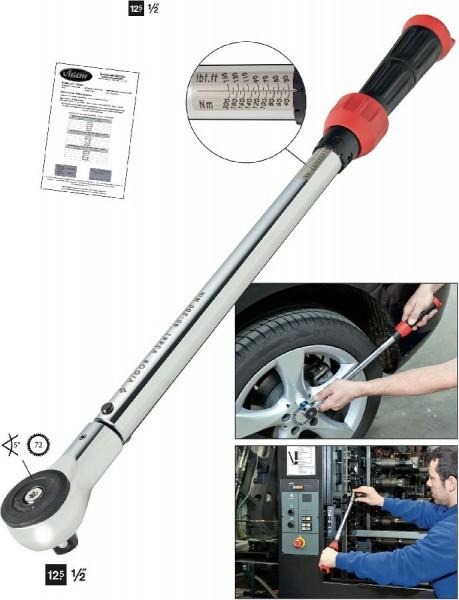 Vigor Draaimomentsleutel 540 mm, 40 Nm - V3441