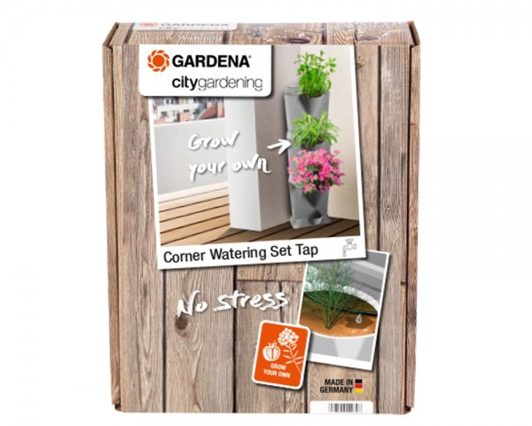 Gardena NatureUp! Bewässerungsset Ecke Wasserhahn - 13157-20