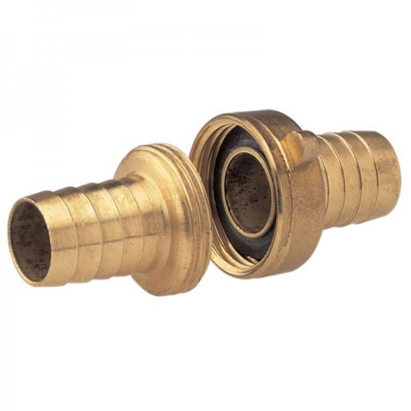 """Gardena Messing slangschroefkoppeling 3-delig, 33,3 mm (G 1) schroefdraad voor slangen van 19 mm (3/4"""")"""
