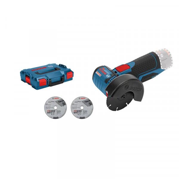 Bosch Professional Akku-Winkelschleifer GWS 12V-76, L-BOXX, ohne Akku und Ladegerät - 06019F2003
