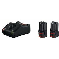 Bosch Professional Starterset 2 x GBA 12V 2.0Ah + GAL 12V-40 - 1600A019R8