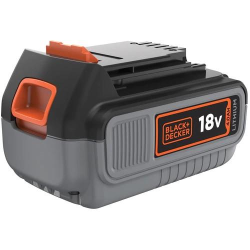 Black & Decker Akku 18V/4,0Ah Li-Ion für alle 18V/F5 Gartengeräte und Elektrowerkzeuge - BL4018-XJ