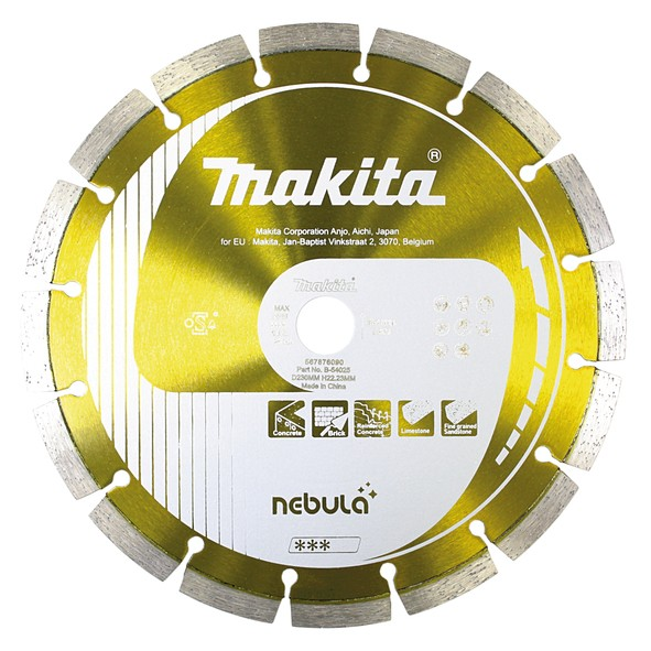 Makita Diamantschijf 230x22,23mm, NEBULA - B-54025
