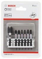 Bosch Professional Impact Control schroefbitset, 7-delig, 1xPH2, 1xPZ2, 1xT15, 1xT20, 1xT25, 1xT30 - 2608522327
