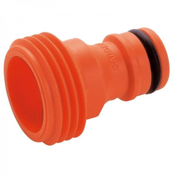Gardena Adaptateur pour accessoires est équipé d'un filetage américain - 02922-26