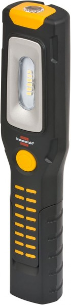 Brennenstuhl 6+1 LED Akku Multifunktionsleuchte 300lm mit Knickfuss, Magnet und USB-Kabel 300lm+100lm