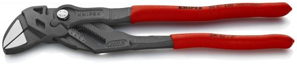 Knipex Pinza chiave combinazione di pinza e chiave in un unico utensile bonderizzata nera 250 mm - 86 01 250
