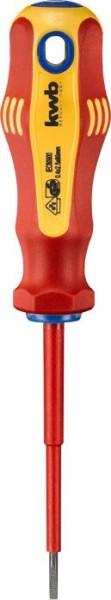 KWB VDE-schroevendraaier, geïsoleerd, 3.0 mm, 75 mm - 661330