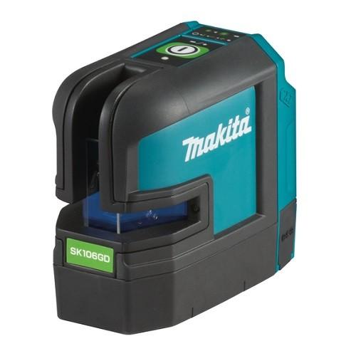 Makita Tracciatore laser, verde, 12V max, 35 m, senza batteria e caricabatteria - SK106GDZ