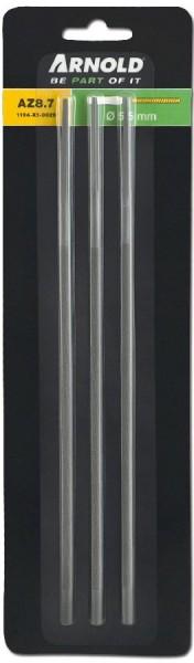 Arnold Rattestaarten 5,5 mm, 3 stuks - 1194-X1-0029