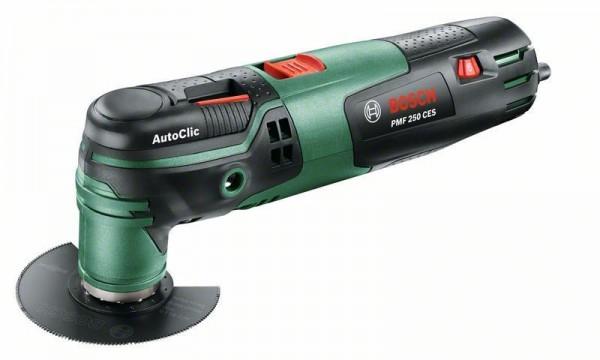 Bosch Multifunktionswerkzeug PMF 250 CES Set, 250W - 0603102101