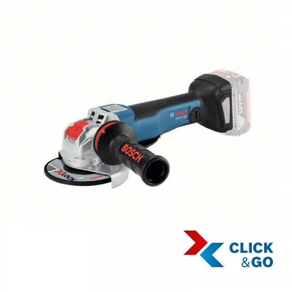 Bosch Meuleuse angulaire sans fil GWX 18V-10 PC, L-BOXX - 06017B0700
