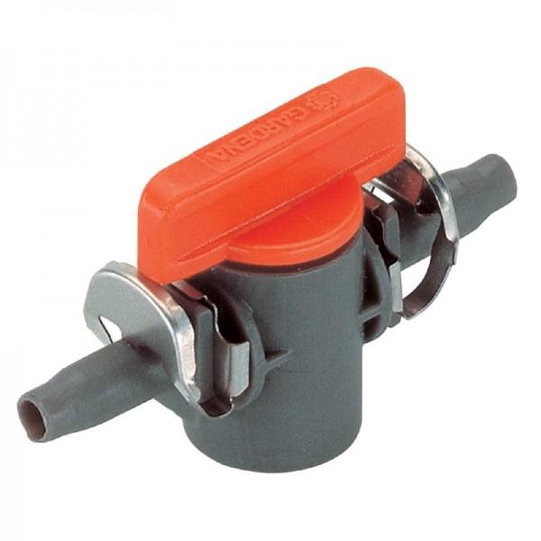 """Gardena Micro-Drip-System Válvula de cierre 4,6 mm (3/16"""") - 2 piezas - 08357-20"""