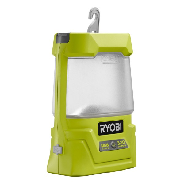 Ryobi Akku-Laternenlampe, 330 Lumen R18ALU-0 - 5133003371