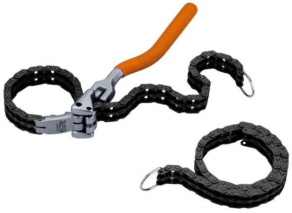 Bahco Chaînes de rechange pour clé à chaîne à filtre à huile, ø 60-160mm - be64520ch