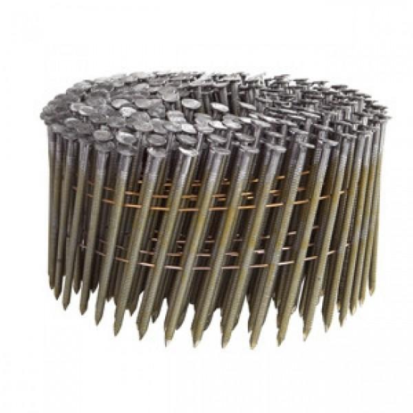 DeWALT Chiodi in bobina DNF 90 mm, 2700 pezzi, ring, acciaio inox - DNF31R90S316E