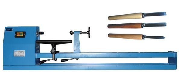 Güde Kit Tour à bois Typ 1000 CE + Jeu de 3 outils de tournage