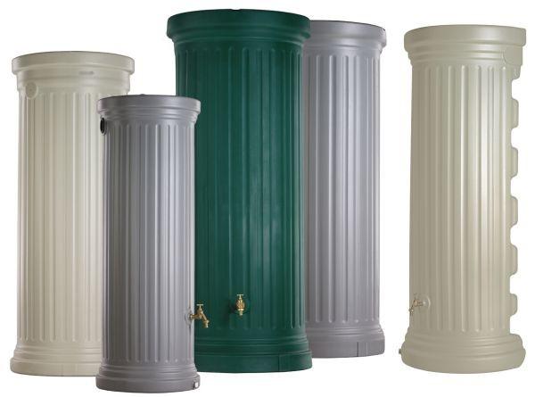 Garantia Colonnes romaines cylindriques - 330 L / Beige Sable