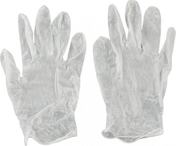 KWB Wegwerphandschoen, vinyl, naadloos, dubbelzijdig draagbaar, XL/10 - 933841