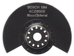 Bosch Professional Hoja de sierra segmentada BIM ACZ 85 EB Wood and Metal 85 mm, 1 pieza - 2608661636