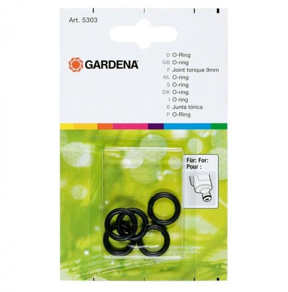 Gardena Junta tórica de 9 mm, 5 unidades - 05303-20