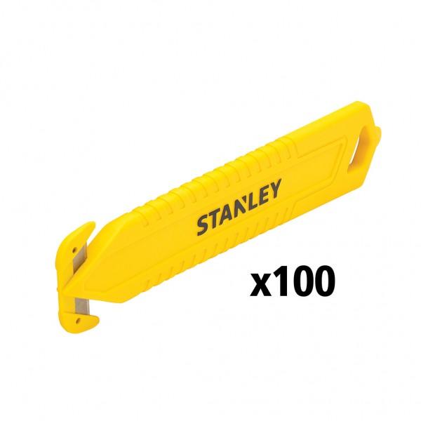 Stanley Coltello di sicurezza monouso, doppio taglio, 100 pezzi - STHT10359-2