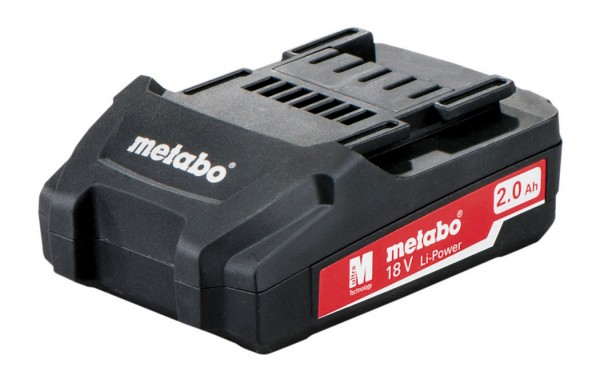Metabo Batteria 18 V, 2,0 Ah, Li-Power - 625596000