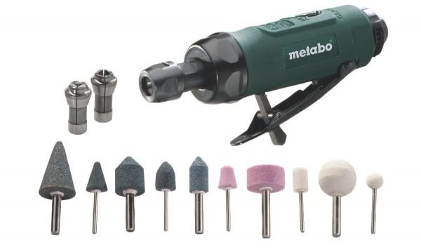 Metabo Druckluft Geradschleifer DG 25 Set inkl. Zubehör