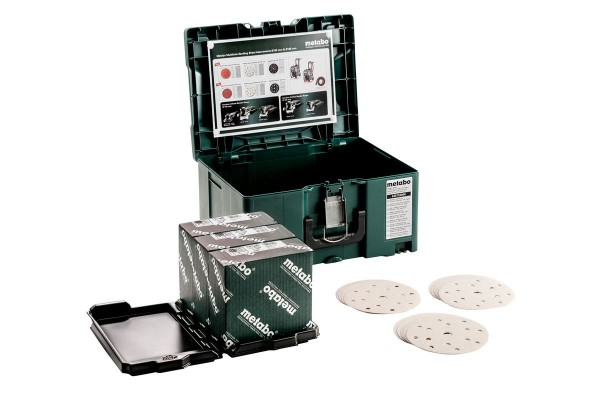 "Metabo Metaloc slijpmiddel-set ""multi-hole"", 150, verf - 626755000"