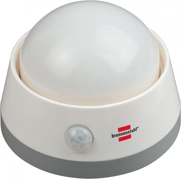 Brennenstuhl Batterie LED-Nachtlicht NLB 02 BS mit Infrarot-Bewegungsmelder und Push-Schalter 6 LED 60 lm 3x AA (enthalten)