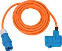 Brennenstuhl Adapterkabel CEE IP44 10m oranje H07RN-F 3G2,5 CEE-stekker, haakse koppeling 230V/16A - 1167650510