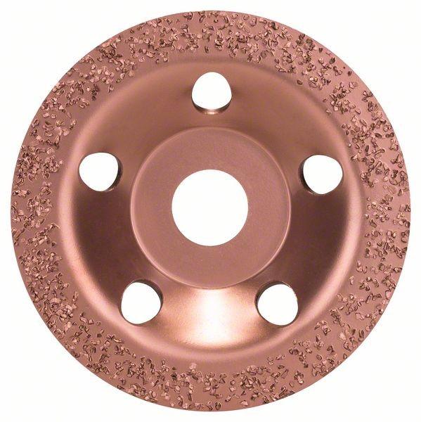 Bosch Meule assiette au carbure 115 x 22,23 mm moyen, surface plate