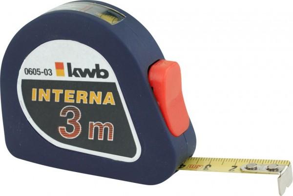 KWB INTERNA-meetband, staal, met kijkvenster - 060503