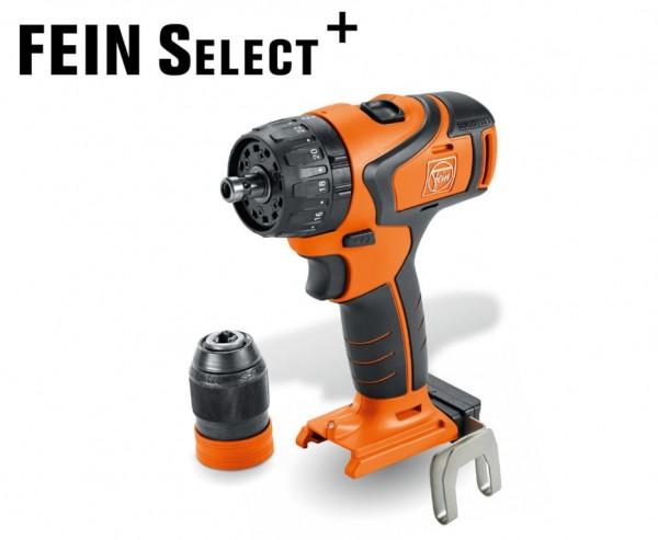 Fein ABS 18 Q Select, Accuschroefboormachine met 2 versnellingen - 71132264000