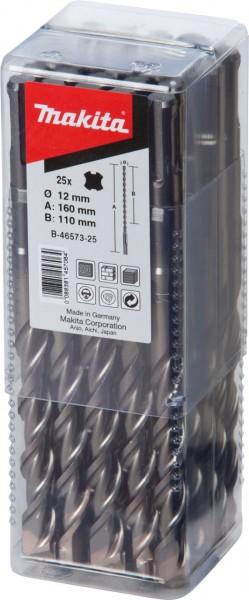 Makita SDS-PLUS boren, 10x160mm, 25 stuks - B-46567-25