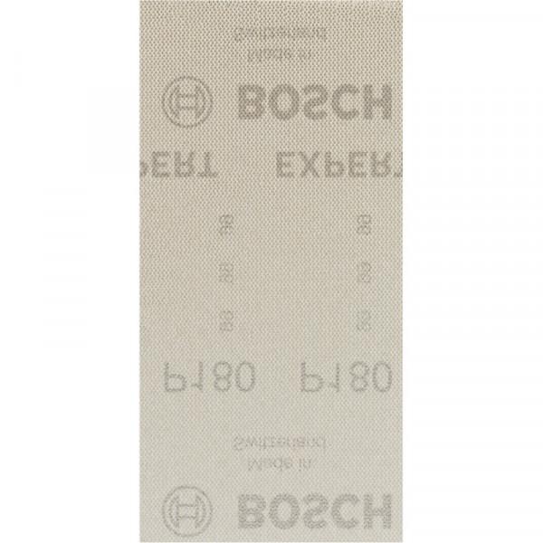 Bosch Professional EXPERT M480 Schleifnetz für Schwingschleifer, 93 x 186mm, G 180, 50-tlg., für Exzenterschleifer - 2608900756