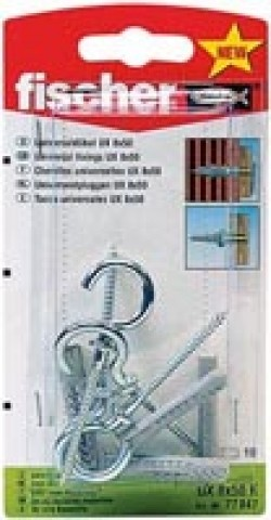 Fischer Universaldübel UX 6 x 35 RH K SB-Karte - 1 Stück