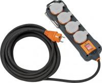 Brennenstuhl Stopcontactblok IP54 (8m kabel, antraciet) - 9151480100