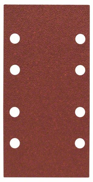 Bosch Jeu de 10 feuilles abrasives 93 x 185 mm, 60