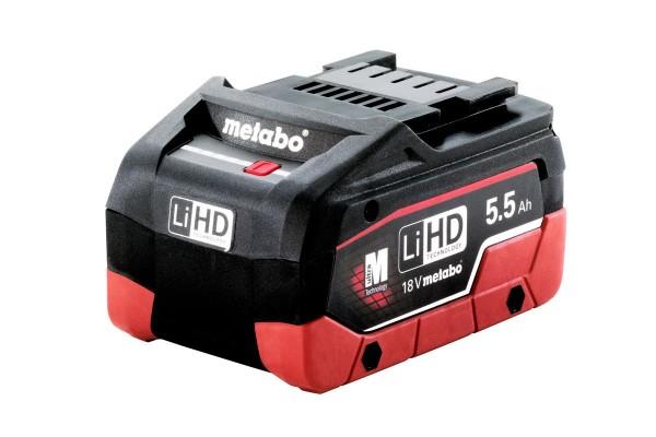 Metabo Akkupack LiHD 18 V - 5,5 Ah - 625368000