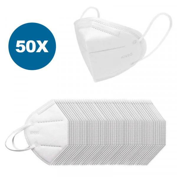 Masque respiratoire KN95 / N95, 50 pièces