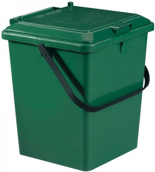 Garantia Seau pour aliment Bio de 8 litres couleur vert