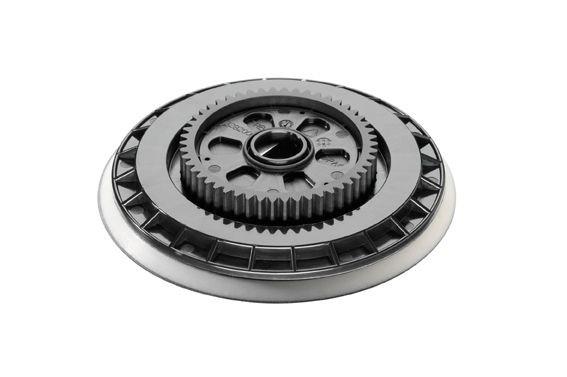 Flex Plateau Velcro avec roue dentée, 140 mm - 342637