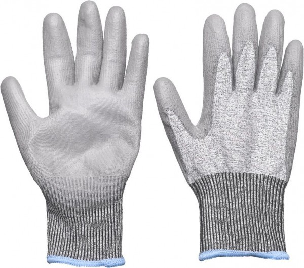 KWB Fijn gebreide handschoen, touchscreen - 934740