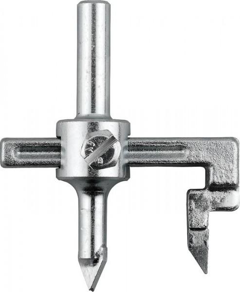 KWB Hardmetalen cirkelsnijder, traploos instelbaar - 178100