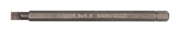 """Bahco Lames hexagonales 1/4 100 mm pour vis à fente - 8040-2P"""""""