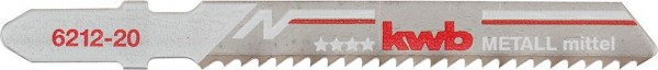 KWB Decoupeerzaagbladen, metaalbewerking, bimetaal, medium - 621225