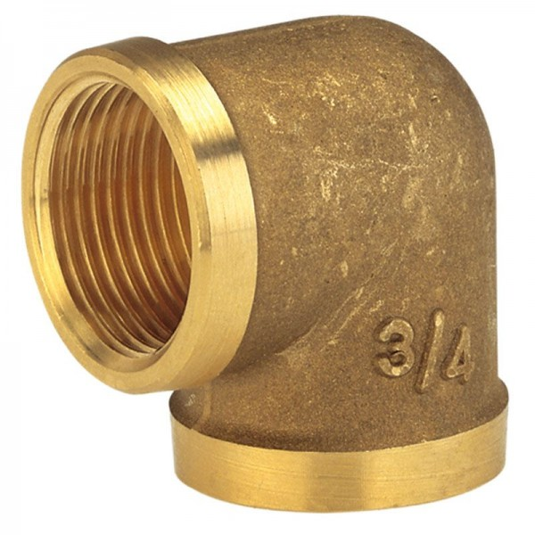 Gardena Messing hoek met binnendraad, 42mm (G 1 1/4)-schroefdraad - 07282-20