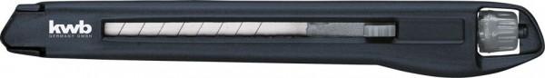 KWB Interlock afbreekmes met draaiknop, 9 mm - 015809