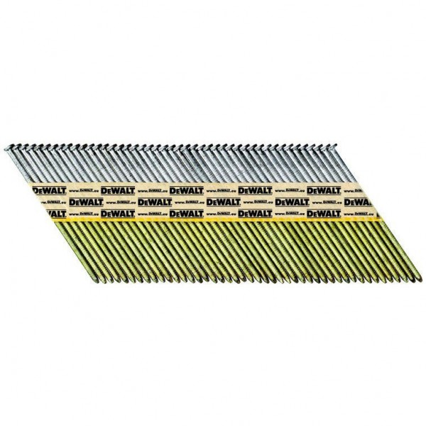DeWALT Chiodi in stecca DNPT, ring, galvanizzati G12, 50 mm, 2200 pezzi - DNPT28R50G12Z